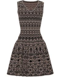 Alaïa Stretch-knit Dress - Black