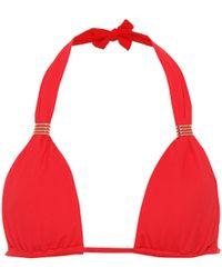 Melissa Odabash Top de bikini Grenada - Rojo