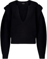 Isabel Marant Pull Reed en laine et cachemire - Noir