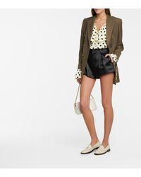 Balenciaga Ville Mini Leather Shoulder Bag - Metallic