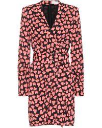 Rebecca Vallance Hotel Beau Wrap Dress - Pink
