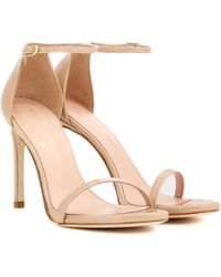 Stuart Weitzman - Exclusive To Mytheresa. Com – Nudistsong Patent Leather Sandals - Lyst