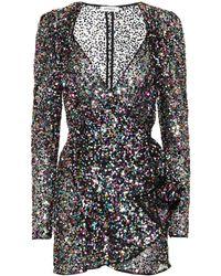The Attico Pat Sequined Minidress - Multicolor