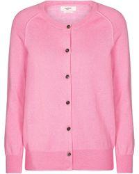 Étoile Isabel Marant Cardigan Napoli aus Baumwolle und Wolle - Pink