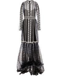 Costarellos Vestido de fiesta de tul - Negro