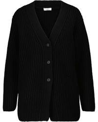 Vince Cardigan en laine mélangée - Noir