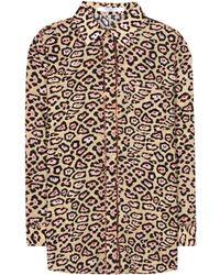 Givenchy - Leopard Print Shirt - Lyst