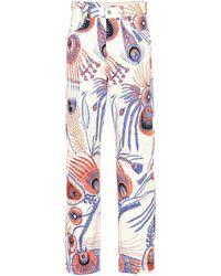 Dries Van Noten Printed Straight-leg Jeans - Multicolor