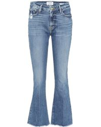 FRAME Jeans Le Crop Mini Boot - Blu