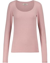 Dorothee Schumacher All Time Favorites Stretch-cotton Top - Pink