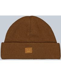 Acne Studios Kansy Beanie - Brown