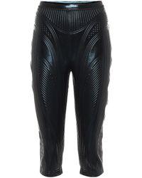 Mugler Shorts in tessuto tecnico - Nero