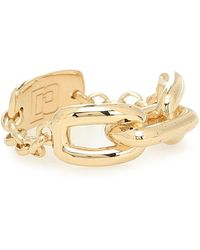 Paco Rabanne Chain-link Ring - Metallic