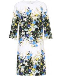 Erdem - Floral-printed Silk Minidress - Lyst