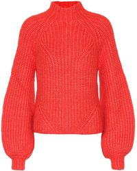 Ulla Johnson Pullover Micha - Rot