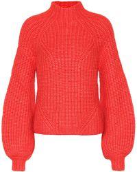 Ulla Johnson - Micha Ribbed Alpaca-blend Turtleneck Sweater - Lyst