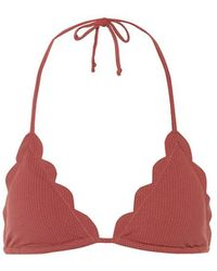 Marysia Swim Top bikini Broadway - Rosso