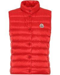 Moncler Ghany Down-filled Vest - Red
