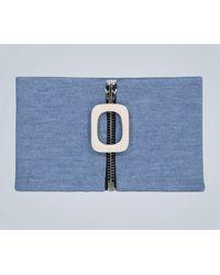 JW Anderson Cuello de lana - Azul