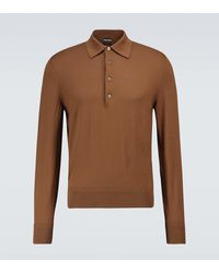 Tom Ford - Polo in lana a maniche lunghe - Lyst