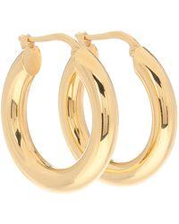 Jil Sander Hoop Earrings - Metallic