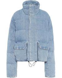 Unravel Project Piumino di jeans - Blu
