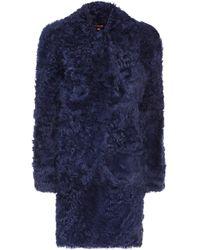 Sies Marjan Abrigo de borrego Ripley - Azul