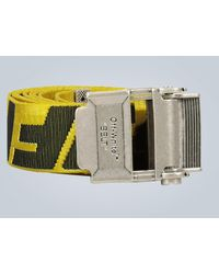 Off-White c/o Virgil Abloh 2.0 Industrial Belt - Yellow