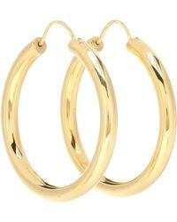 Theodora Warre Gypsy 18kt Gold-plated Hoop Earrings - Metallic