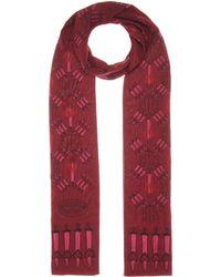 Valentino | Love Blade Silk-crêpe Scarf | Lyst