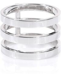 Repossi - Berbere 18kt White Gold Ring - Lyst