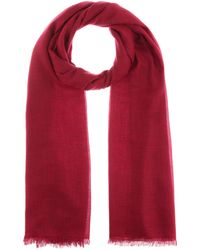 Isabel Marant Schal Woody aus Wolle - Rot