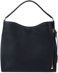 Tom Ford Alix Leather Shoulder Bag - Black