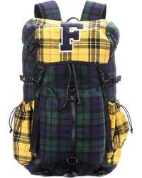 PUMA - Hike Plaid Backpack - Lyst