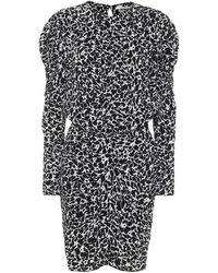 Étoile Isabel Marant Robe Selwyn imprimée - Noir