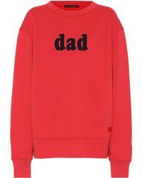 Acne Studios - Dad Cotton Sweatshirt - Lyst