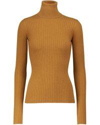 Dodo Bar Or Ribbed-knit Turtleneck Jumper - Orange