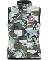 Canada Goose Gilet Freestyle a stampa camouflage - Verde