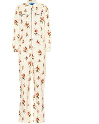 M.i.h Jeans Margot All In One Corduroy Jumpsuit - Natural
