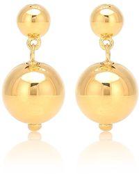 Sophie Buhai Orecchini Ball Drop bagnati in oro giallo 18kt - Metallizzato