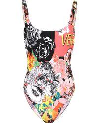 Versace Printed Swimsuit - Multicolor