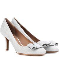 Ferragamo - Erice 70 Glitter Court Shoes - Lyst
