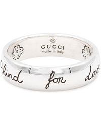 Gucci Ring aus Sterlingsilber - Mettallic