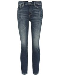Current/Elliott Jeans skinny The Stiletto a vita alta - Blu