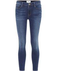 FRAME - Le High Skinny De Jeanne Jeans - Lyst