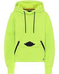 Nike Jordan Cotton-blend Hoodie - Yellow