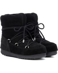 Moncler - X Moon Boot® Hamal Ankle Boots - Lyst