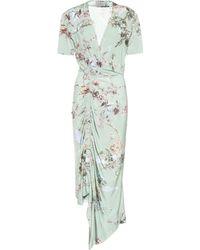 Preen By Thornton Bregazzi Vestido Kyla de crepé elastizado - Verde