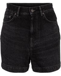 Acne Studios Shorts de jeans - Negro