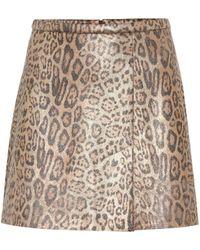 Stouls Minifalda Santa de gamuza - Multicolor